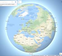 google maps координаты